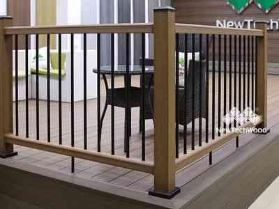 美新塑木欄杆案例