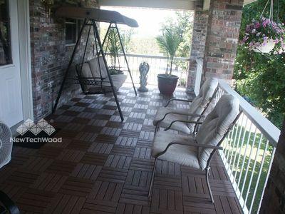 美新塑木-門廳-木地板