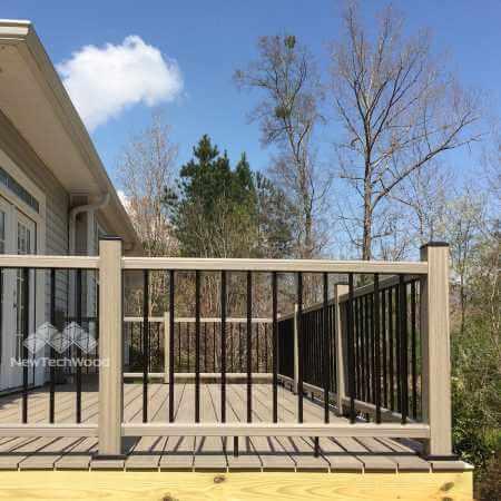 美新塑木戶外欄杆