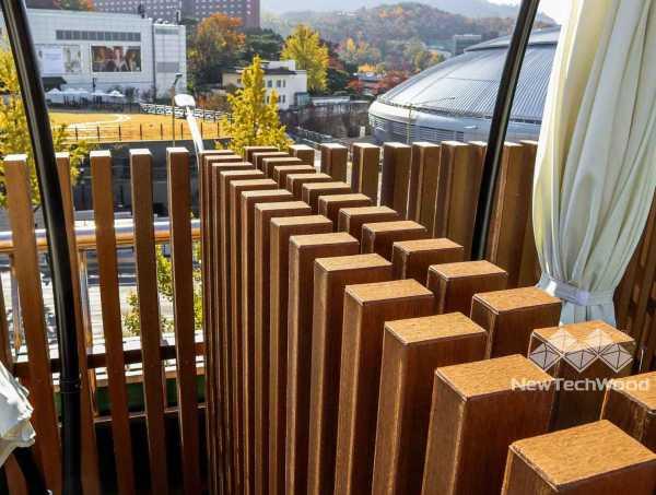 美新塑木-格柵圍籬