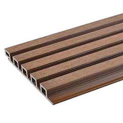 美新塑木格柵牆板-UH61