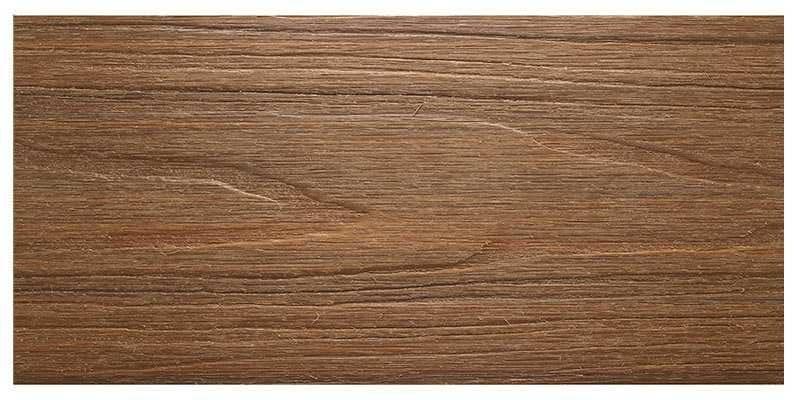 美新塑木地板-柚木色