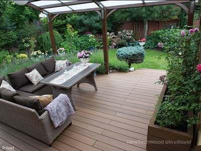 美新塑木地板案例