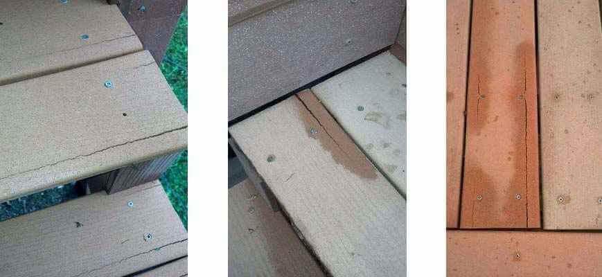塑木的開裂